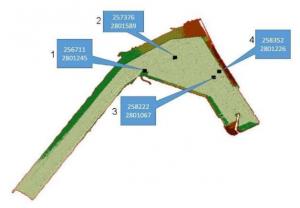 نقشه سهبعدی از بندر شهید بهشتی