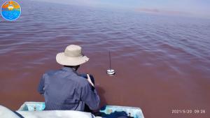 دریاچه ارومیه-دریانقشه-هیدروگرافی