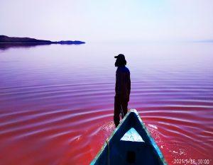 دریا نقشه- دریاچه ارومیه-هیدروگرافی