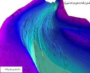 دریا نقشه- خورزنگی- هیدروگرافی